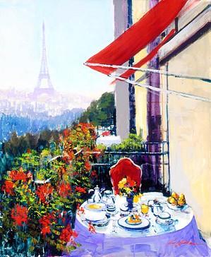 Kerry Hallam-Paris Sunrise