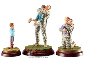Thomas Blackshear Lenox-Coming Home Military Set In Ivory