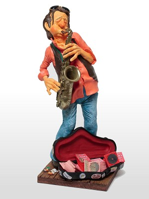 Guillermo Forchino-The Saxophone Player