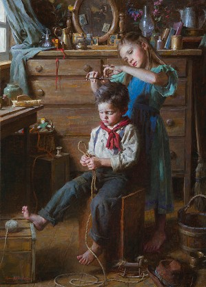Morgan Westling-The Barbershop