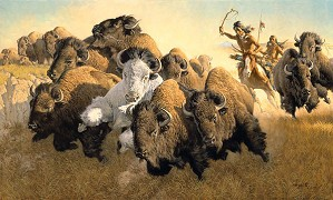Frank McCarthy-In Pursuit of the White Buffalo ANNIVERSARY EDITION