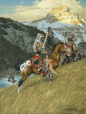 Frank McCarthy-Blackfoot Raiders ANNIVERSARY EDITION