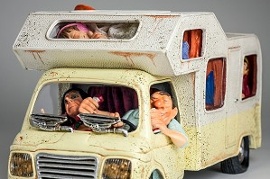 Guillermo Forchino-The Camper 1/2 Scale