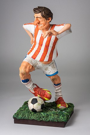 Guillermo Forchino-The Football/Soccer Player 1/2 scale