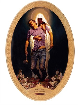 Thomas Blackshear II-Forgiven Plate