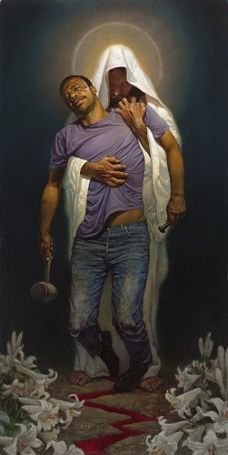 Thomas Blackshear II-Forgiven II Signed