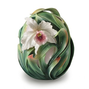 Franz Porcelain-Orchid Collection Vase