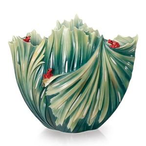 Franz Porcelain-Vase, Rain Forest (LE 2000)