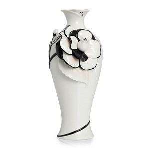 Franz Porcelain-Vase, Graceful Camellia large