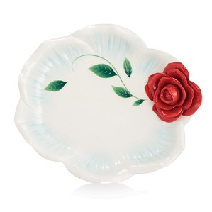 Franz Porcelain-Tray, Romance of the Rose