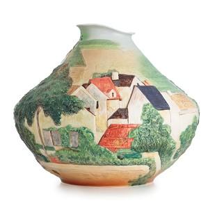 Franz Porcelain-Landscape at Auvers
