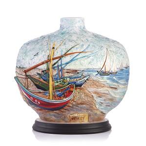 Franz Porcelain-Vase, Van Gogh Sailing (LE 988)