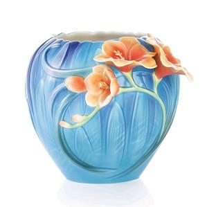 Franz Porcelain-Vase, Freesia