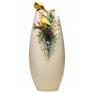 Franz Porcelain-Vase, Yellow Oriole