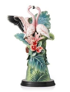 Franz Porcelain-Flamingo Porcelain Figurine (LE 88)