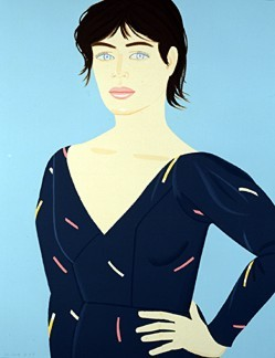 Alex Katz-Grey Dress