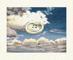 Fanny Brennan-Sky Button