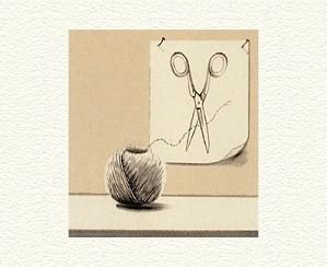 Fanny Brennan-String And Scissors