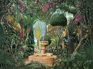 John Kiraly-Key West Garden