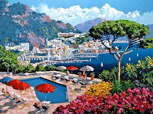 Kerry Hallam-Ravello Canvas