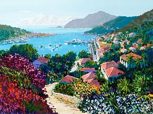 Kerry Hallam-St Barts Canvas