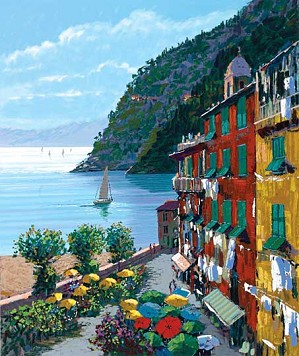 Kerry Hallam-Cinqueterre Canvas