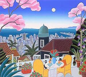 Thomas McKnight-Cherry Blossom Terrace