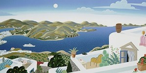 Thomas McKnight-Patmos Panorama Right Panel