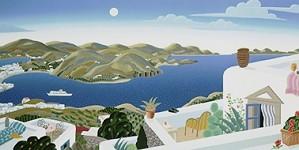 Thomas McKnight-Patmos Panorama Right Panel