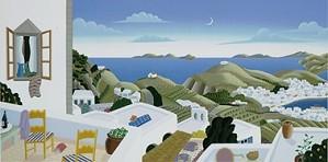 Thomas McKnight-Patmos Panorama Left Panel