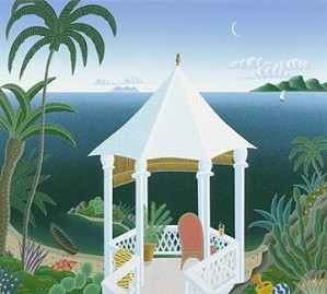 Thomas McKnight-Tropical Gazebo
