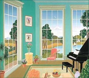 Thomas McKnight-Stockbridge Deluxe On Canvas