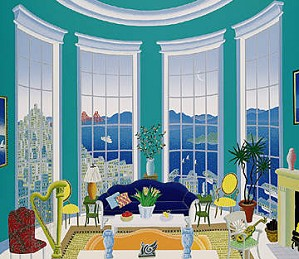 Thomas McKnight-San Francisco Bay Deluxe On Canvas