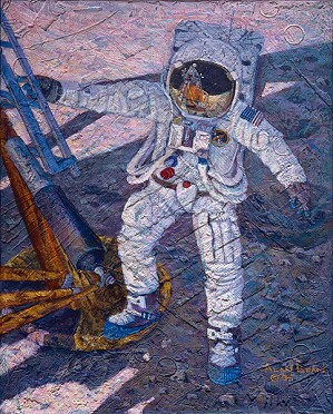 Alan Bean-A Giant Leap SmallWork Canvas Edition
