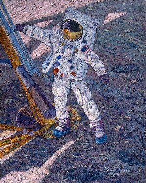 Alan Bean-The First Human Footprint