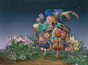 James Christensen-Consider the Lillies