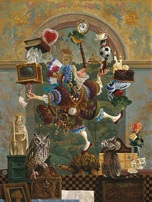 James Christensen-BALANCING ACT