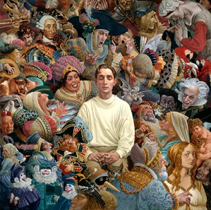 James Christensen-The Listener