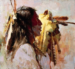 Howard Terpning-PROUD MEN