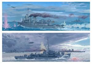 Craig Kodera-The Battle off Samar, Philippines 1944