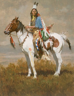 Howard Terpning-SPIRIT OF THE PLAINS