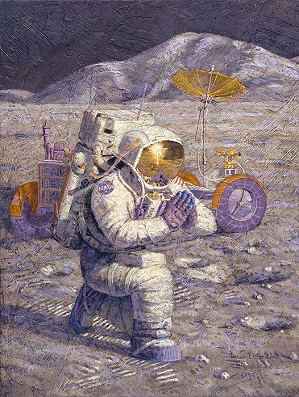 Alan Bean-We Came in Peace for All Mankind