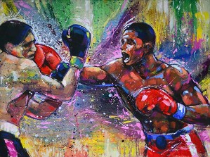Gilbert Young-HEART OF A CHAMPION - ADRIEN BRONER