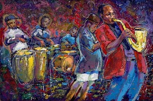 Gilbert Young-JAZZIN' IN THE PARK - JOE JOHNSON