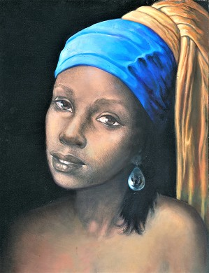 Gilbert Young-As I See It: Pearl Earring