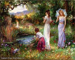 Cao Yong-Garden Beauties