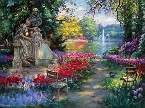 Cao Yong-Garden Splendor Artist Proof