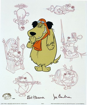 Hanna & Barbera-Mutley Persona