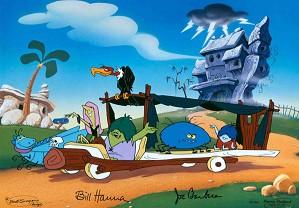 Hanna & Barbera-Meet the Gruesomes