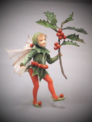 R. John Wright-The Holly Fairy